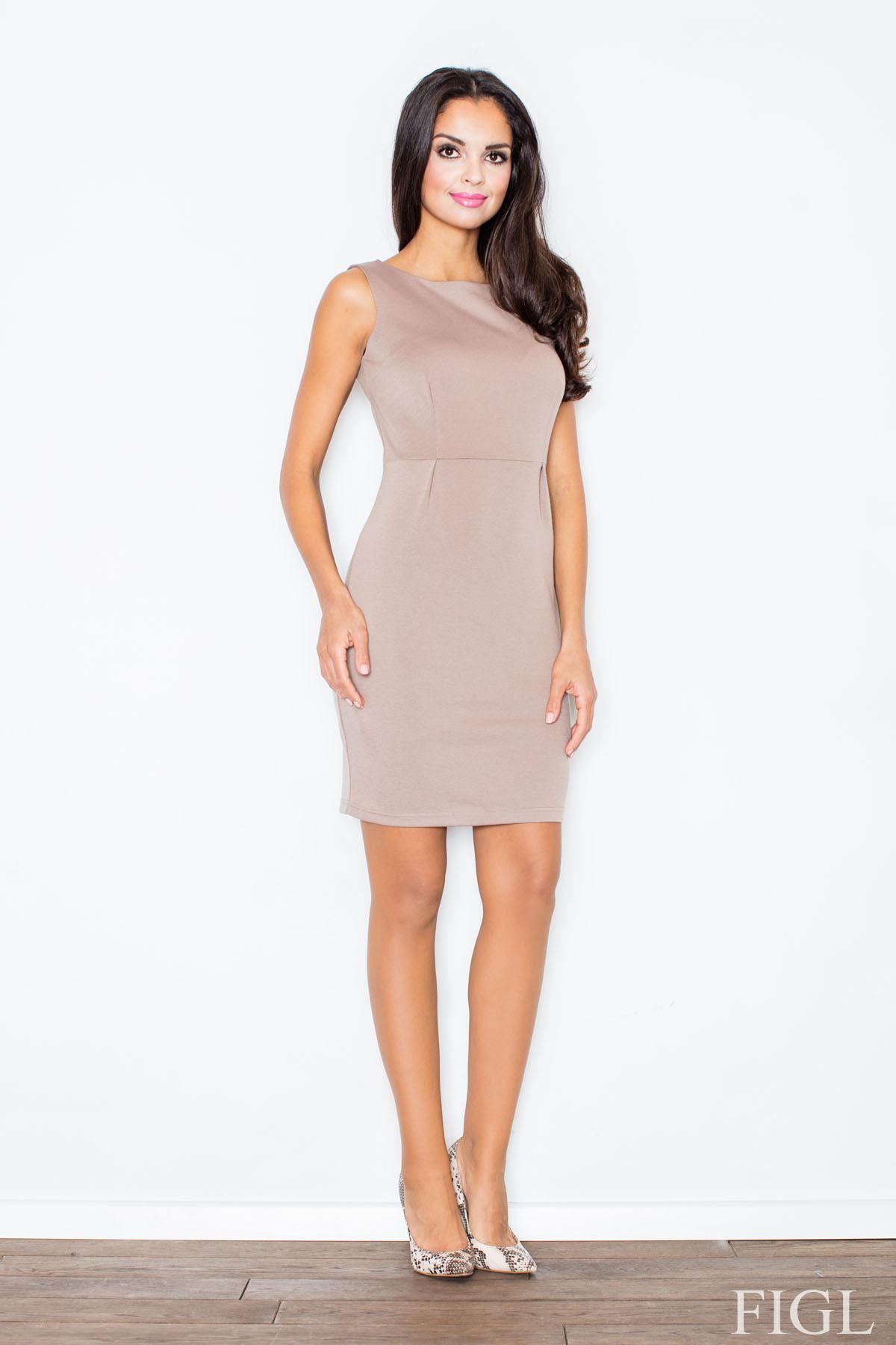 Dámske šaty M079 - Figl Biela L