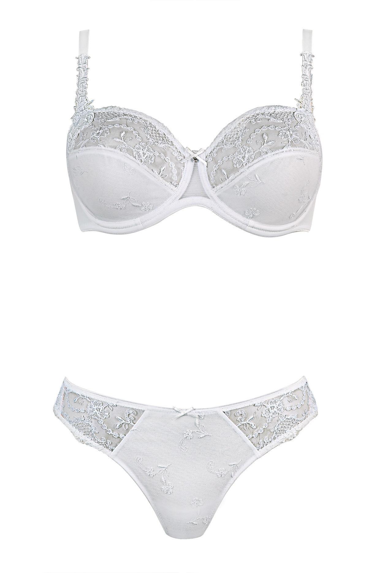 Podprsenka s kosticí 80516-Felina barva: bílá, velikost: 85G