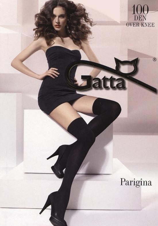 Nadkolenky Parigina 100 DEN - Gatta Barva: černá, Velikost: uni