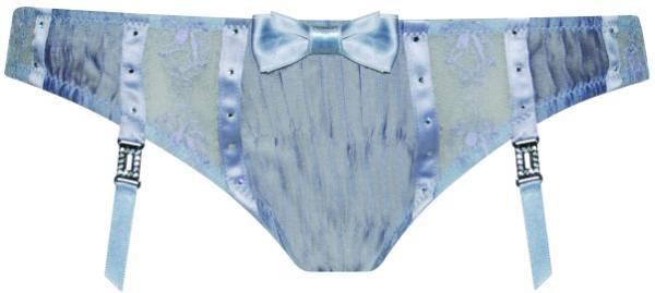 Kalhotky 30-1194 Pleasure State Barva: šedo/stříbrná, Velikost: XS