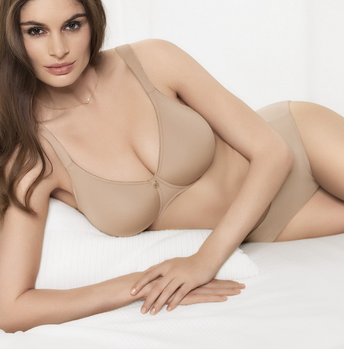 Podprsenka bez kostice 207201 - Felina Barva: tělová, Velikost: 85D