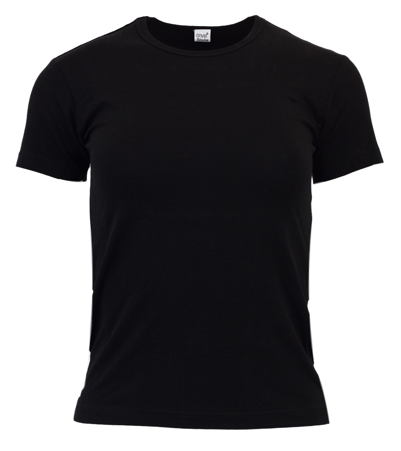 Dámské tričko T-shirt - Envie Barva: černá, Velikost: S