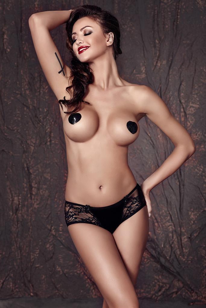 Kalhotky Carol panty - Anais Barva: černá, Velikost: L