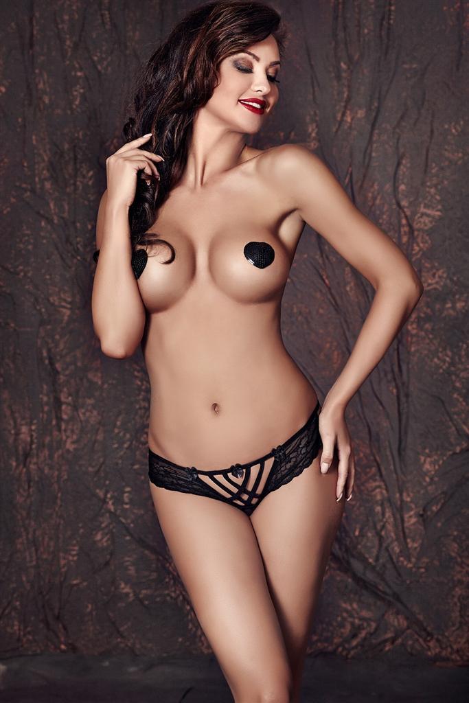 Kalhotky Connie panty - Anais Barva: černá, Velikost: M