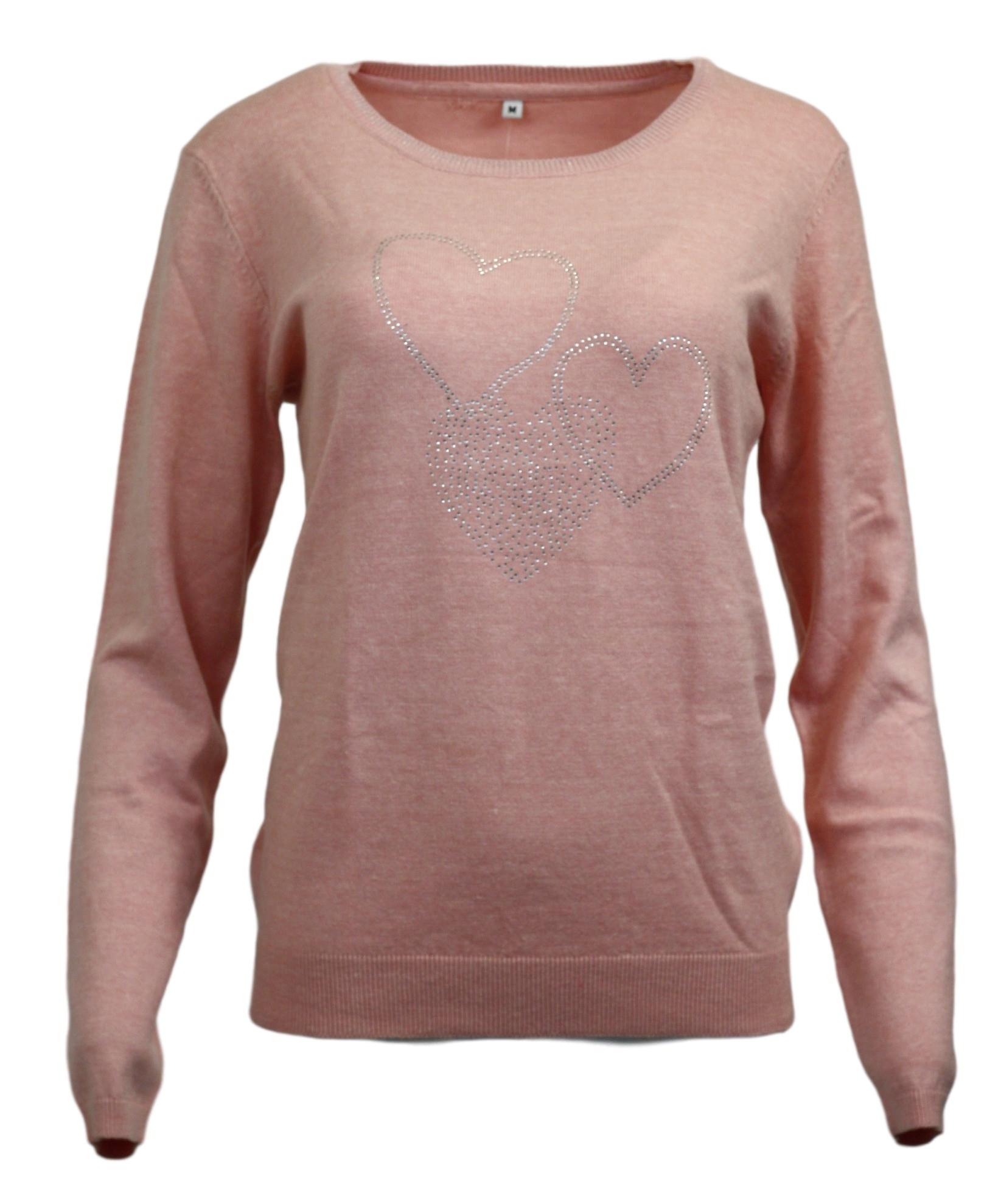 Dámský svetřík - Rhodos - Hegler růžová L