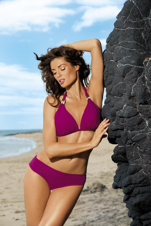 Dvojdílné plavky Lauren M-325 - Marko Barva: oranžová, Velikost: XL