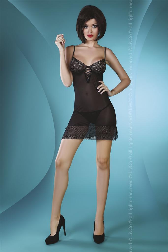 Košilka Florizel - LivCo Corsetti Barva: černá, Velikost: S/M