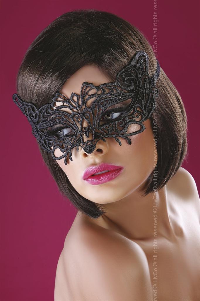 Maska Model 13 - LivCo Corsetti Barva: černá, Velikost: uni