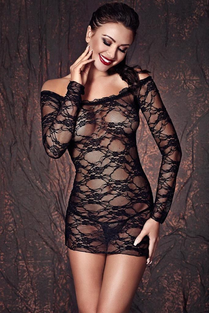 Košilka Lynette - Anais Barva: černá, Velikost: XL