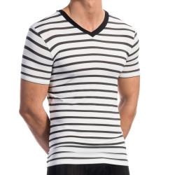 Pánske tričko RED1577 - Olaf Benz bielo-čierna L
