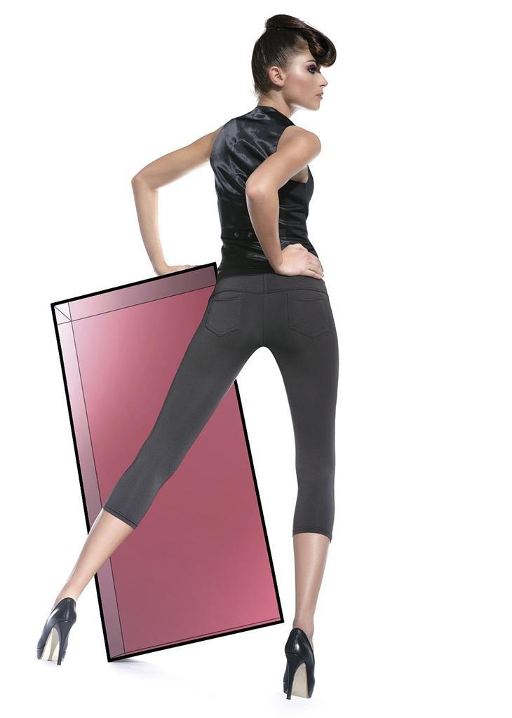 Legíny Marika short - Bas Bleu černá M