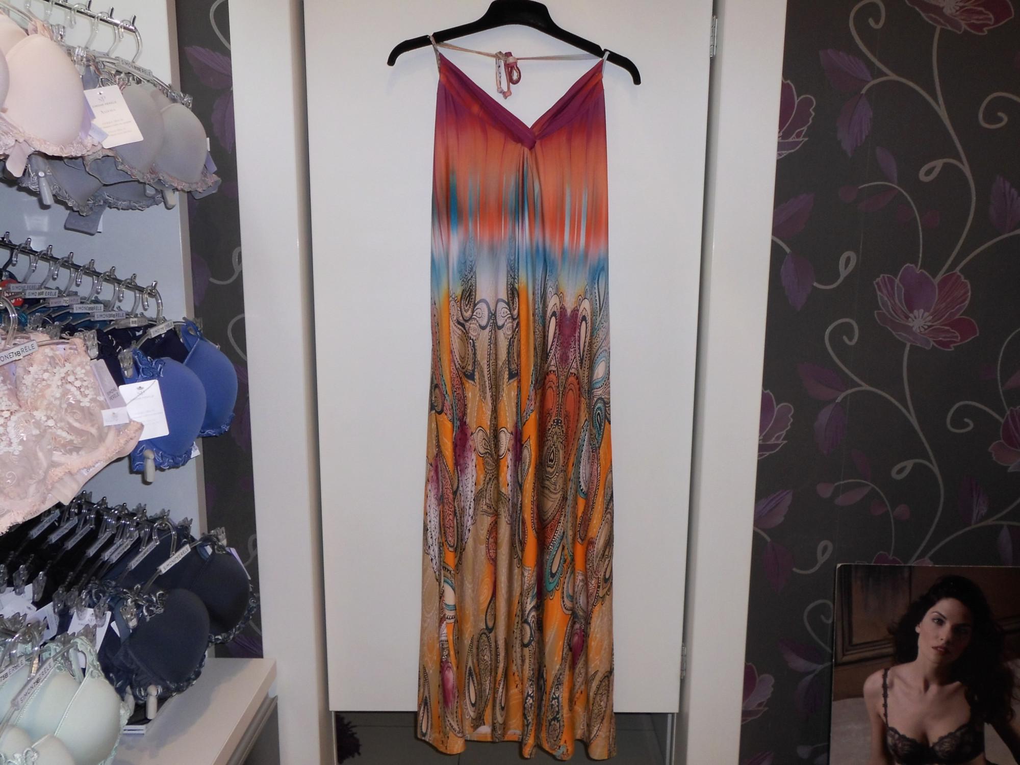 Dámské šaty 3283 - Vamp Barva: orientál, Velikost: S