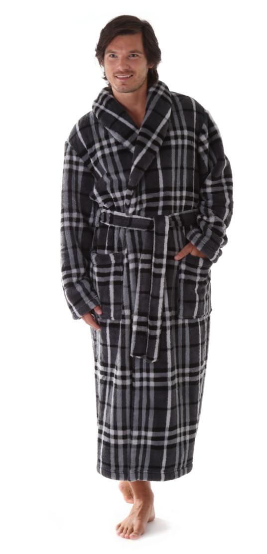 Pánsky župan Gordon 2132 - vestis šedá XL