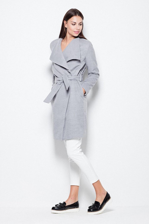 Dámský kabát VT041 - Venaton šedá M