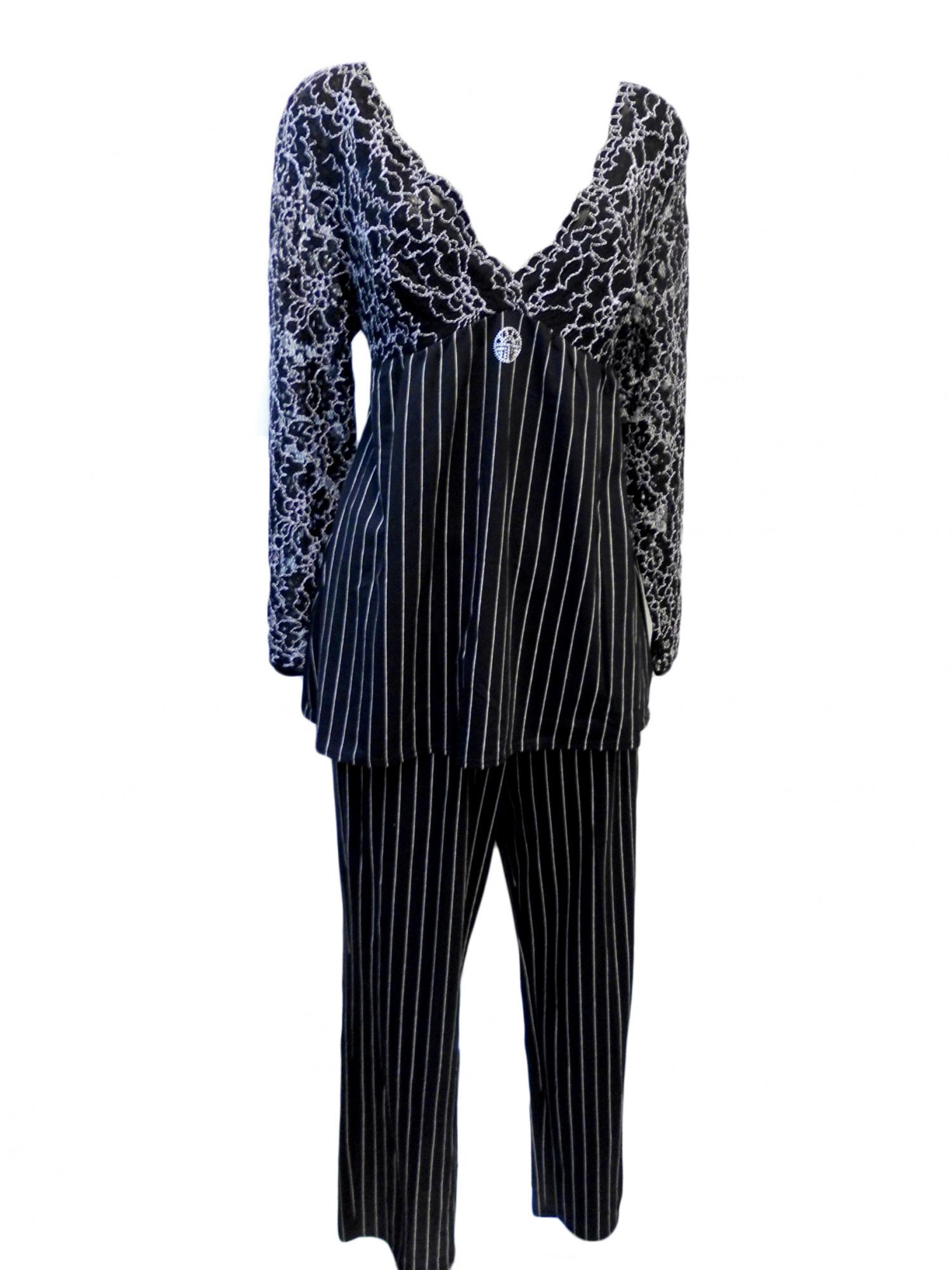 Dámské pyžamo 3211132 - Féraud černá 42