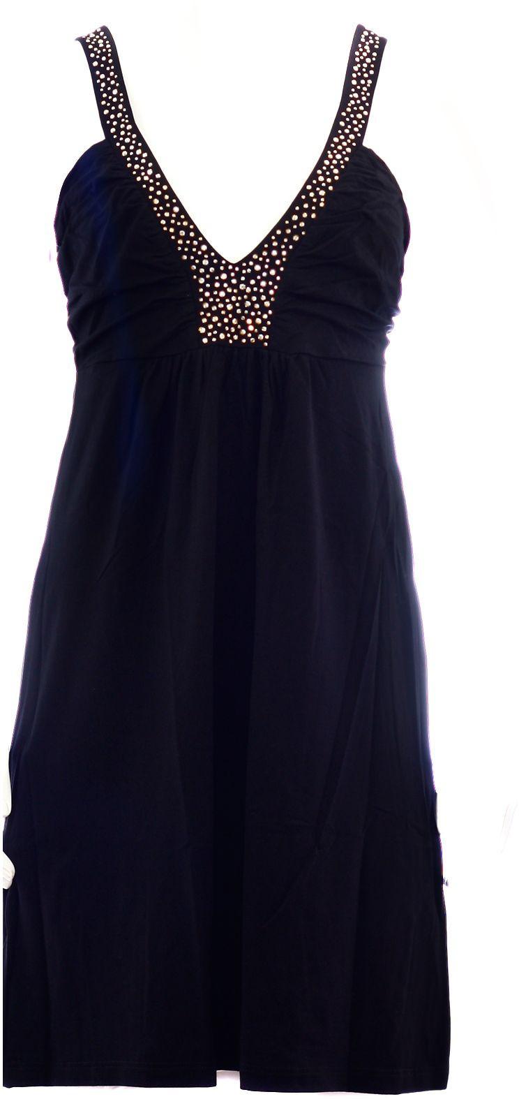 Dámské šaty Lotty šat - Favab Barva: černá, Velikost: M