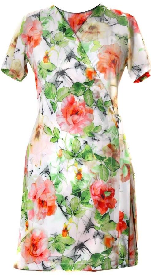 e26f381f8a2 Plážové šaty Ellie 1454 0001 - Vestis květinový vzor L