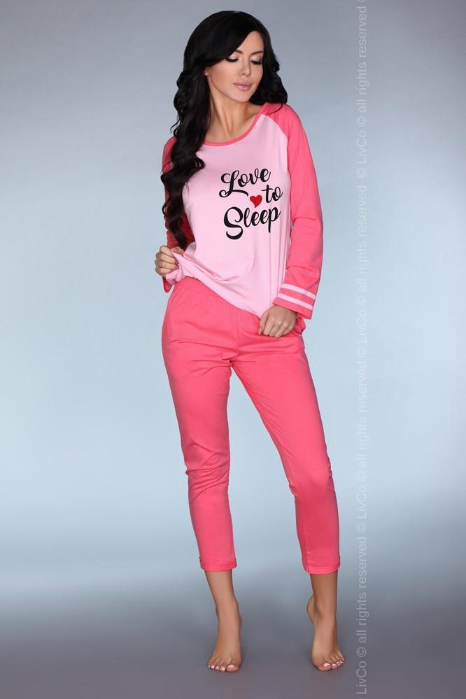 Dámske pyžamo Malblea - LivCo Corsetti ružová L/XL