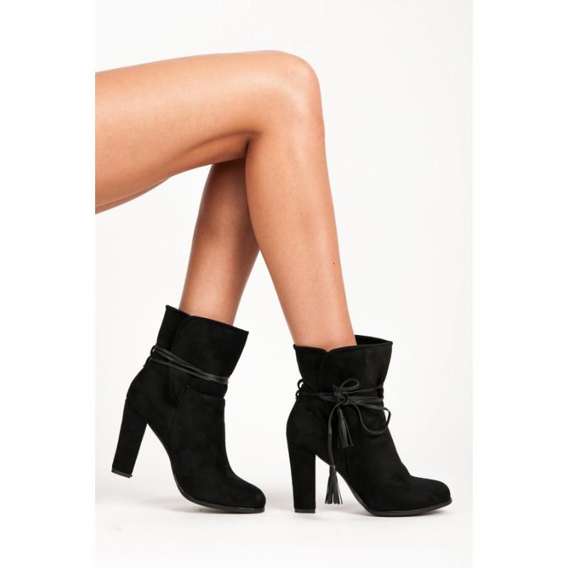 Dámské kotníkové boty 1100-1B - VICES černá 36 35f5d27adf