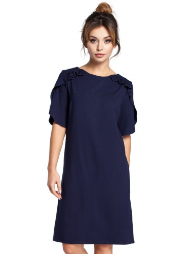 Dámske šaty BO35 - Bewear Čierna M