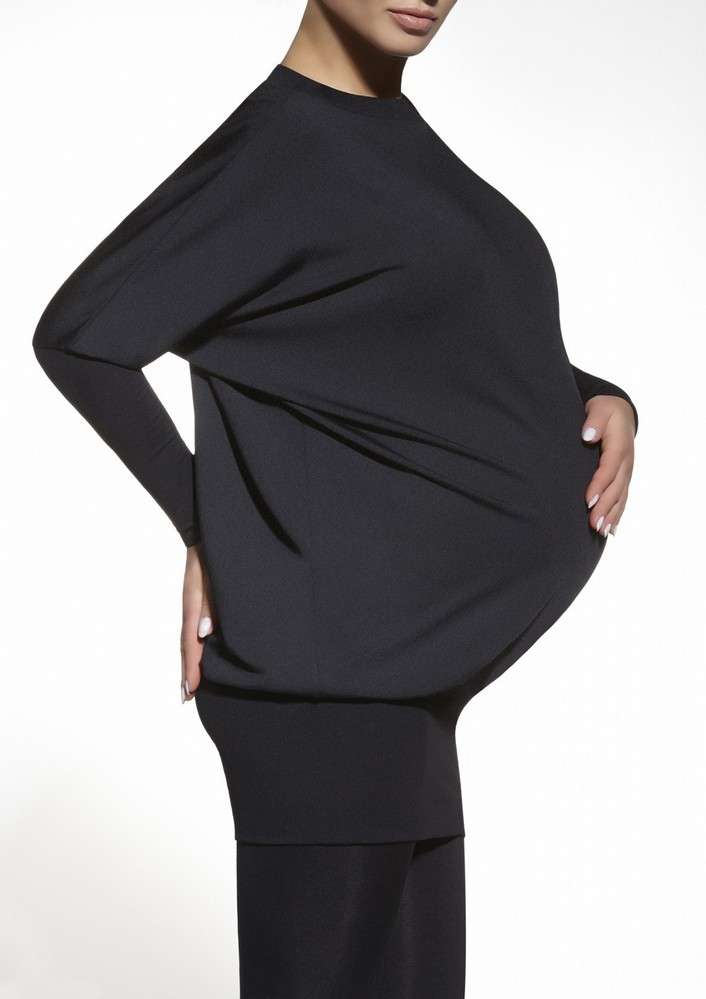 Tunika Emi - Bas Bleu černá S