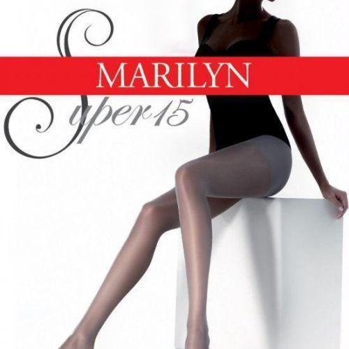 Dámske pančuchy Super 15 - Marilyn biela 2-S