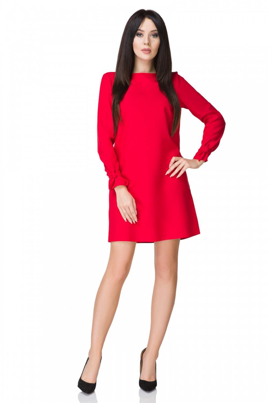 Dámske šaty T194 - Tessita červená 42