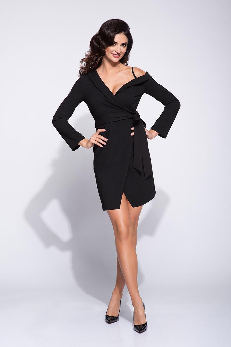 Dámske šaty M314 - Bien Fashion Čierna L