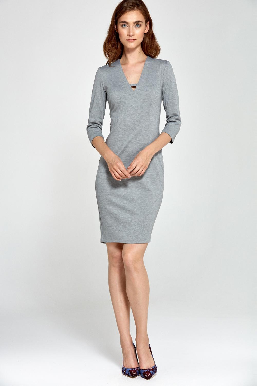 Dámske šaty S92 - Nife šedá 40
