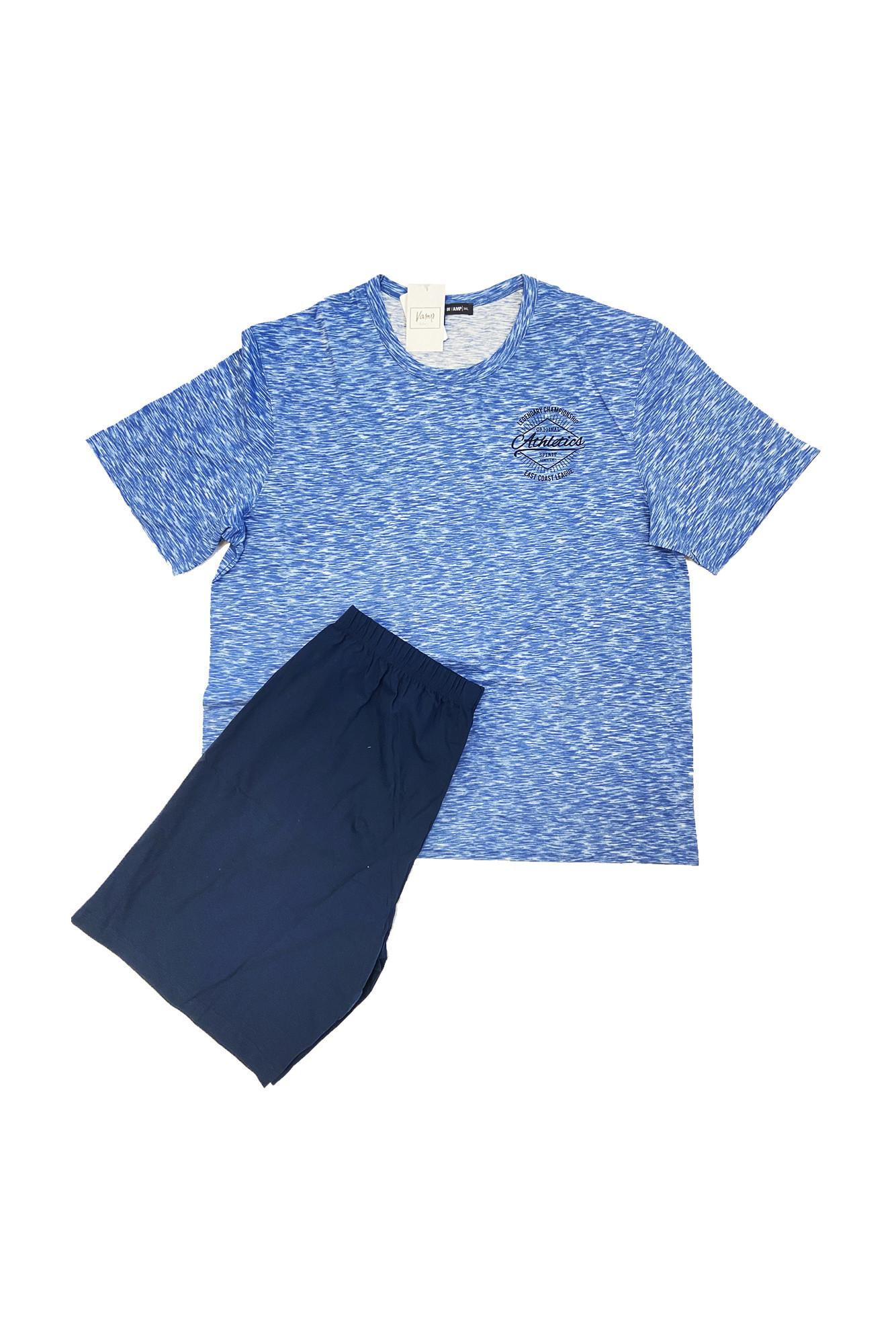 Pánske pyžamo 11952 - Vamp modrá L