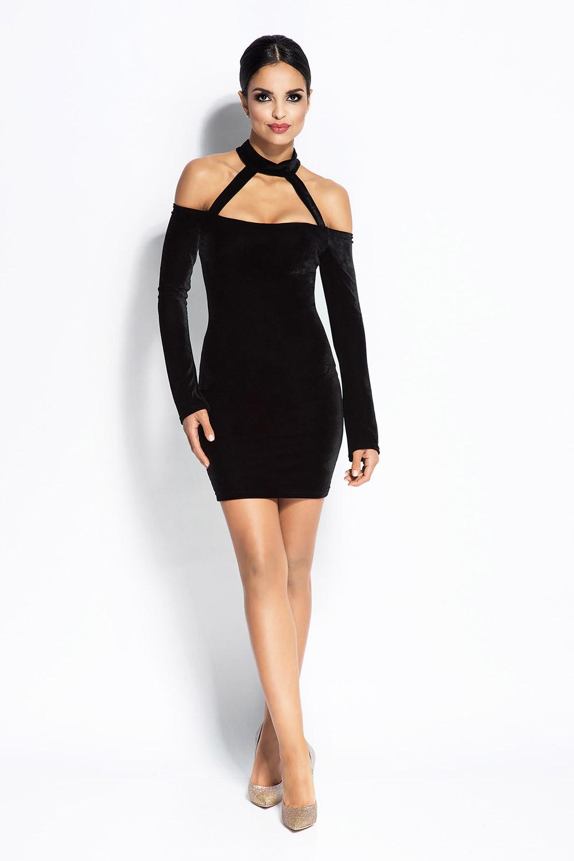 Dámske šaty 093 - Durso Čierna XS