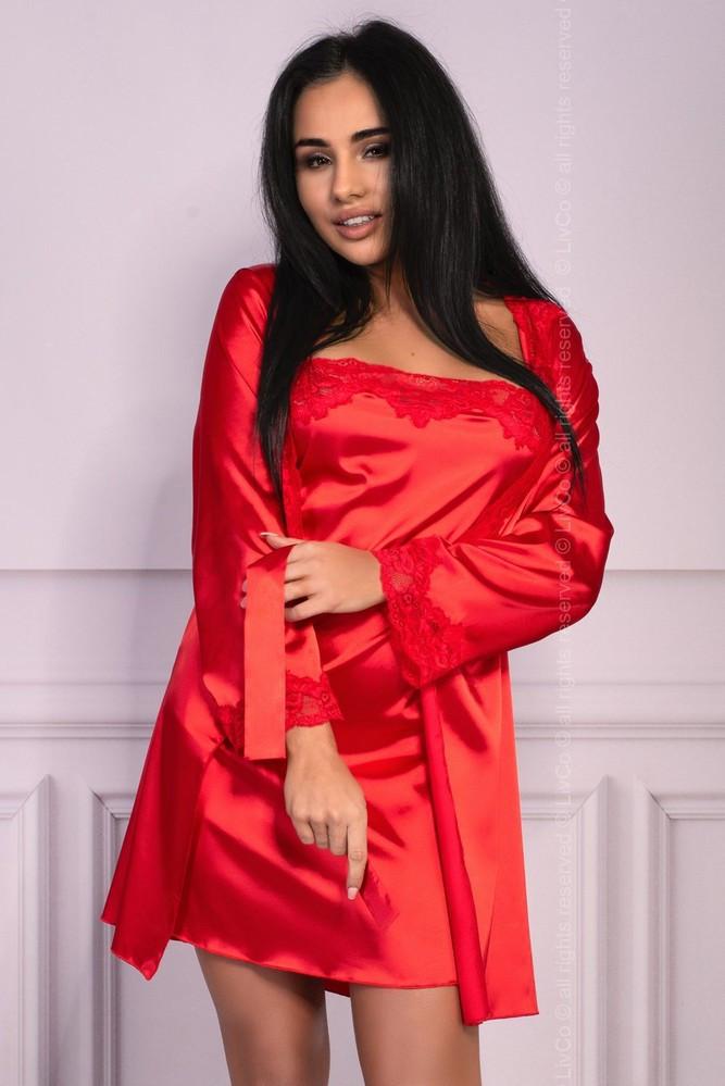 Výjimečná souprava Jacqueline red - LivCo Corsetti červená L/XL