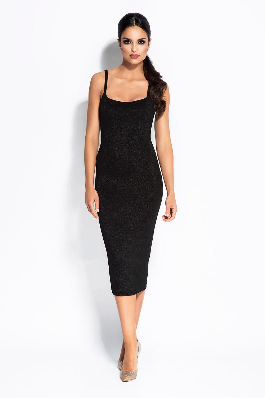 Dámske šaty Charme - Durso Čierna M