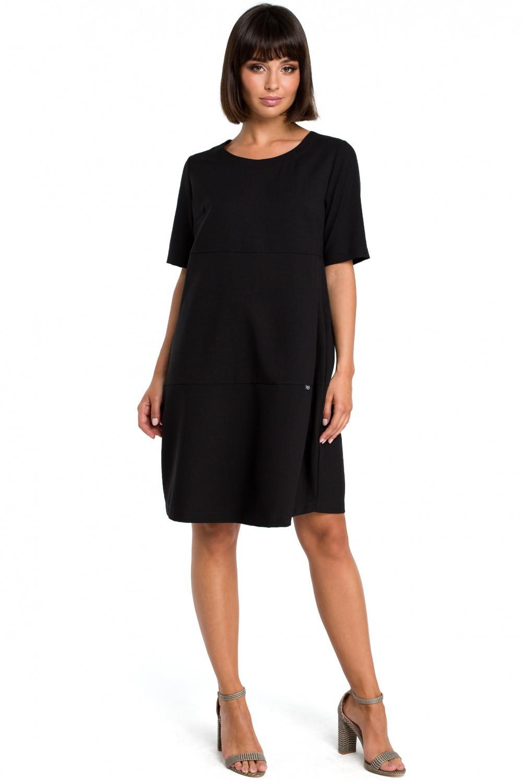 Dámske šaty B082 - BEwear Čierna 42