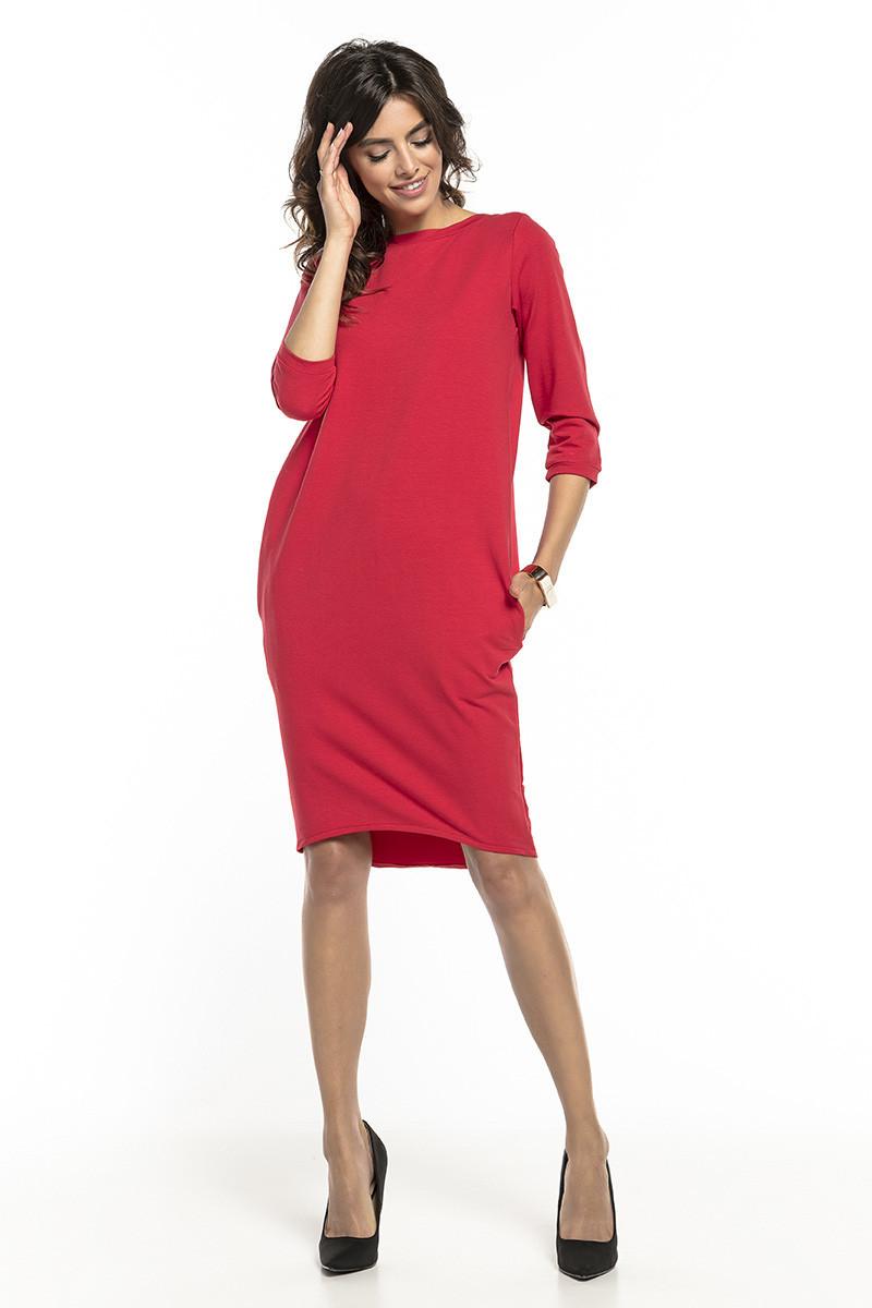 Dámske šaty T298 - Tessita červená 48