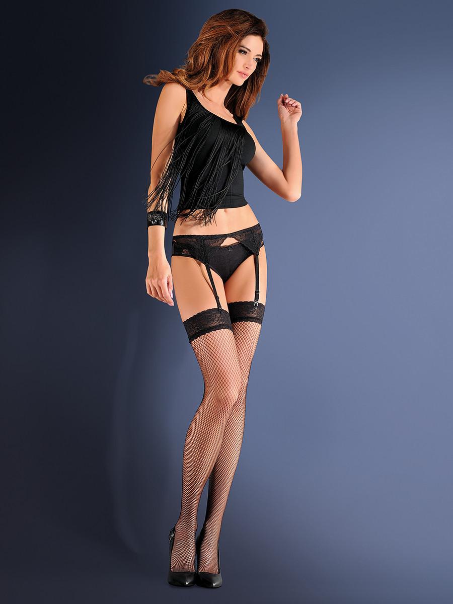Dámsky sexy komplet Erotica Blue Night 219 - Gabriella Čierna 1/2