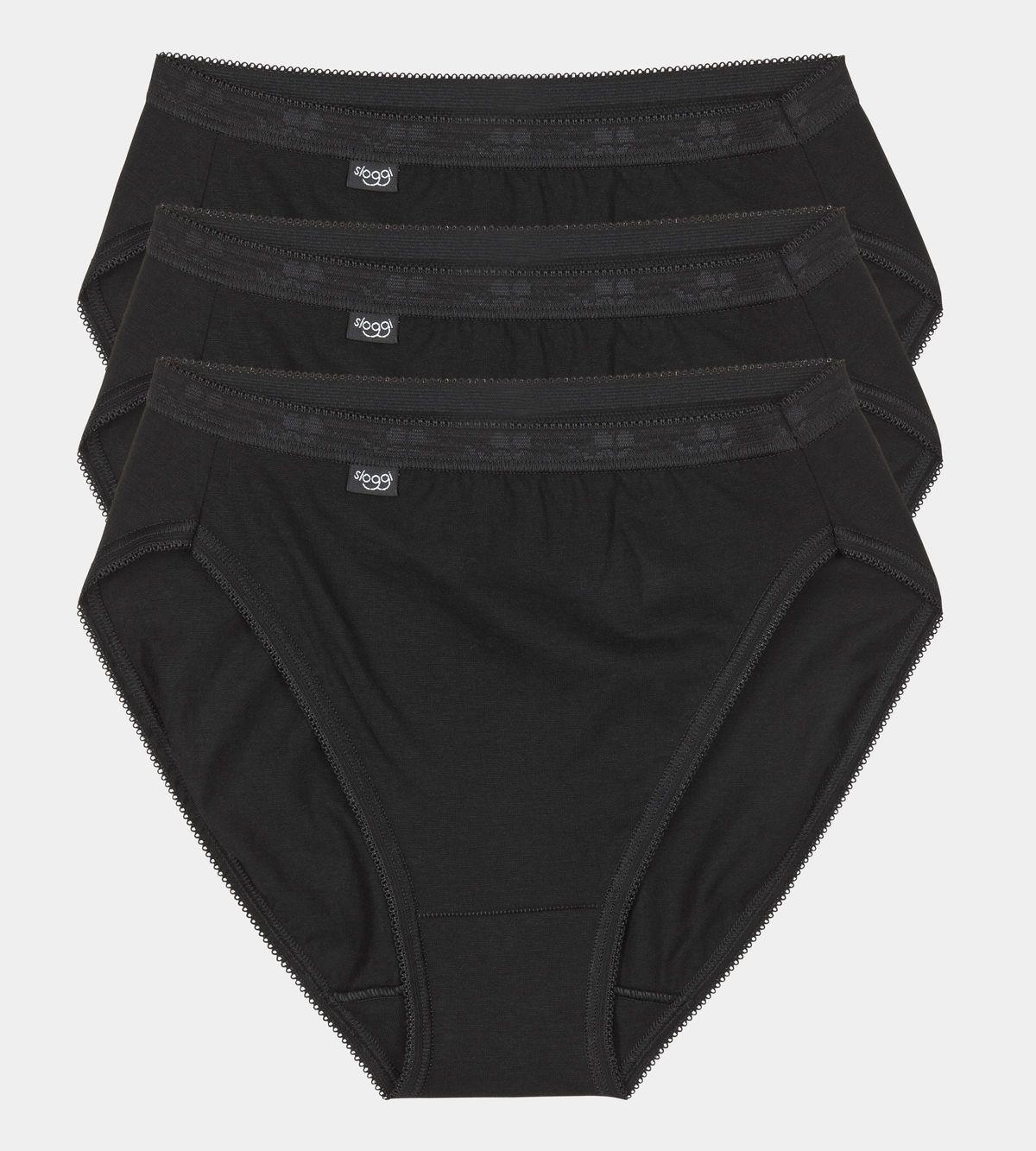 Dámske nohavičky Basic Tai 3P čierna - Sloggi černá 38