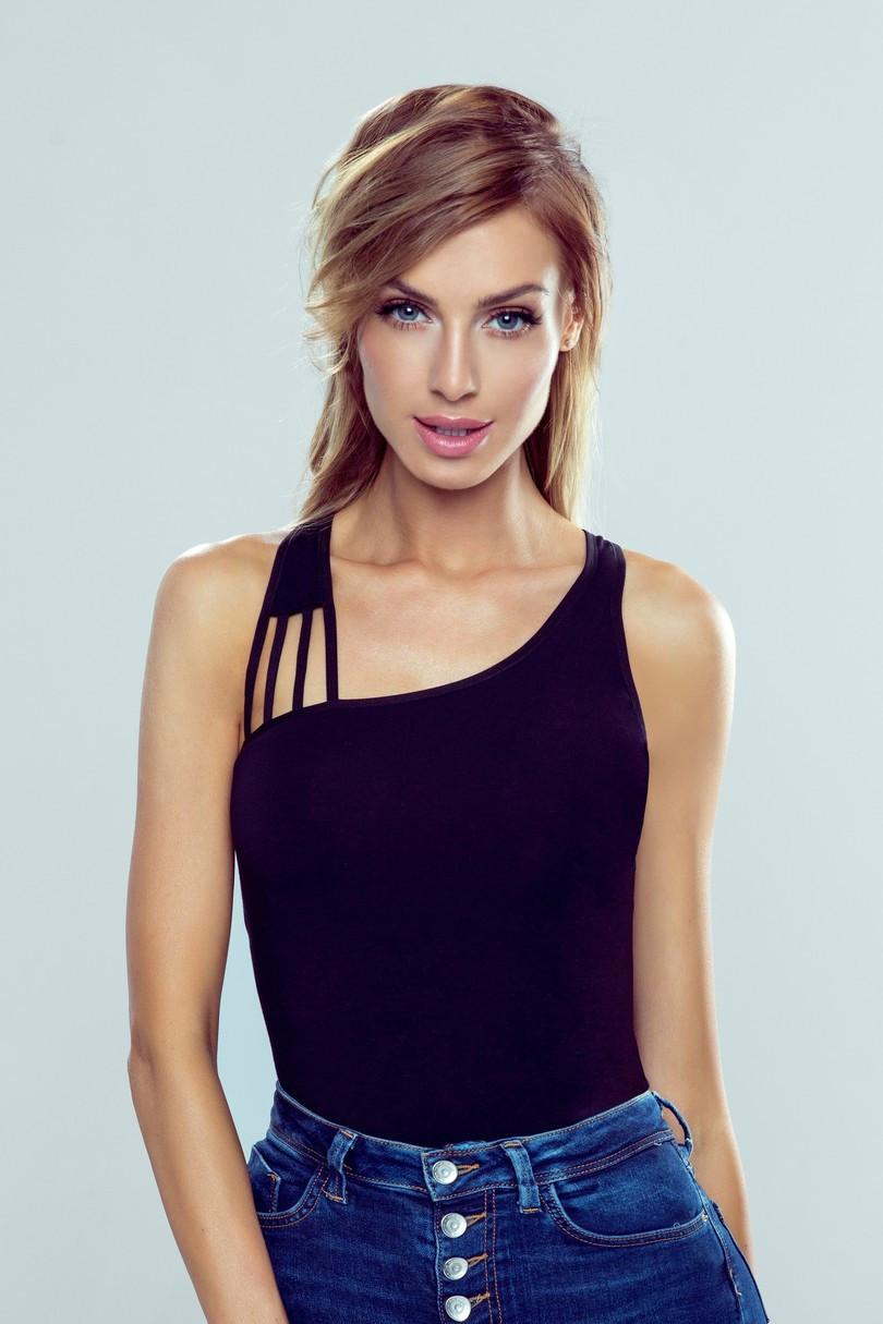 Dámske tričko Iman - Eldar čierna XL