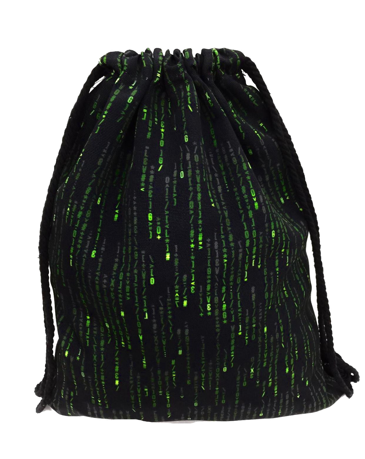 Taška - sáčok W-119 - Bruno Rossi černo-zelená UNI