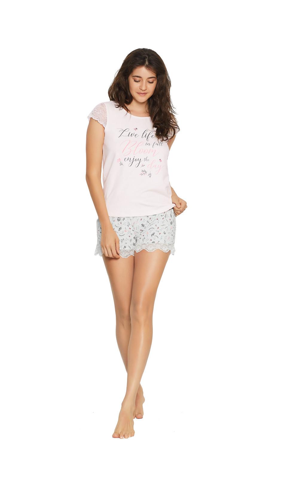 Dámske pyžamo 38049 Favorite - Henderson Ladies lososová M
