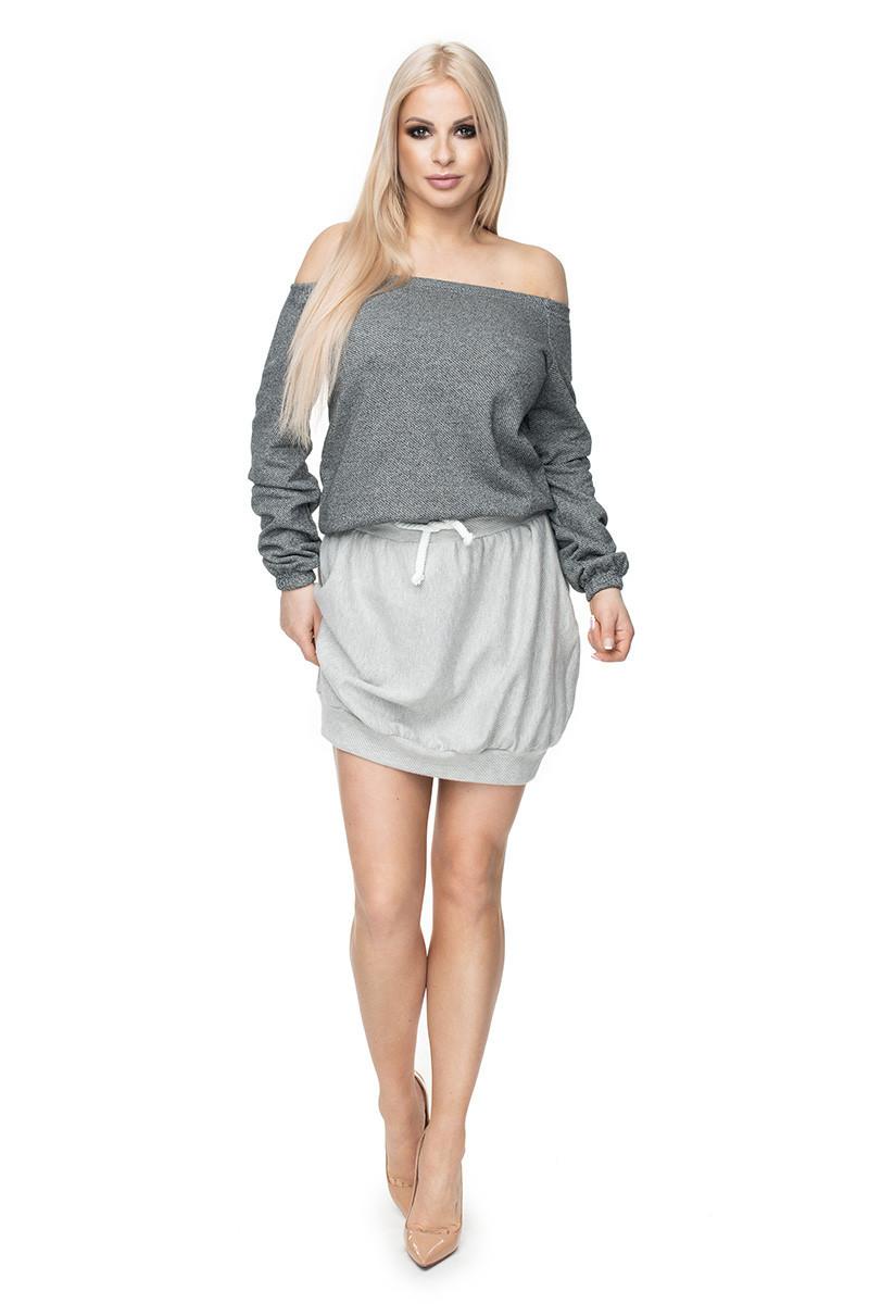 Dámska sukňa 0110 - Peekaboo šedá L / XL