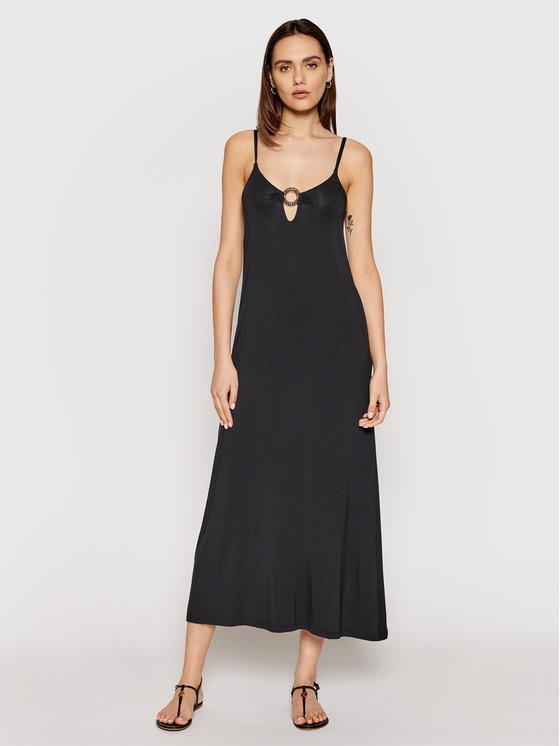 Plážové šaty Emporio Armani 262483 čierna L