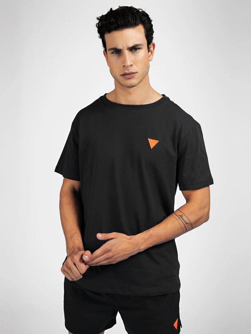 Pánske tričko F0BI00K8HM0 - JBLK - Guess čierna M