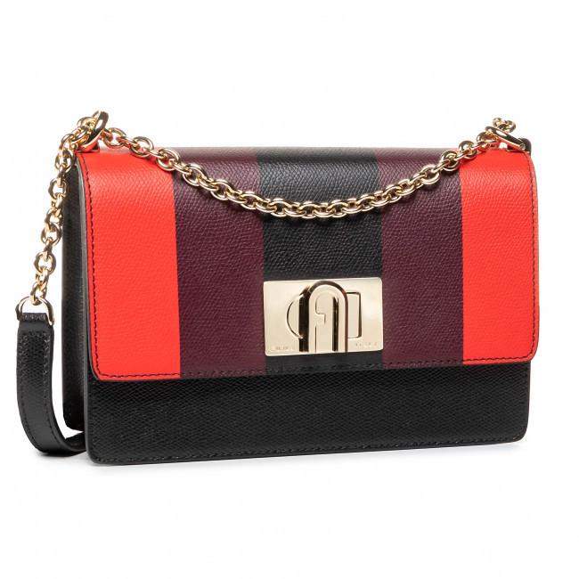 Dámska kabelka 1927 W59 - furl čierna s červenou jedna velikost