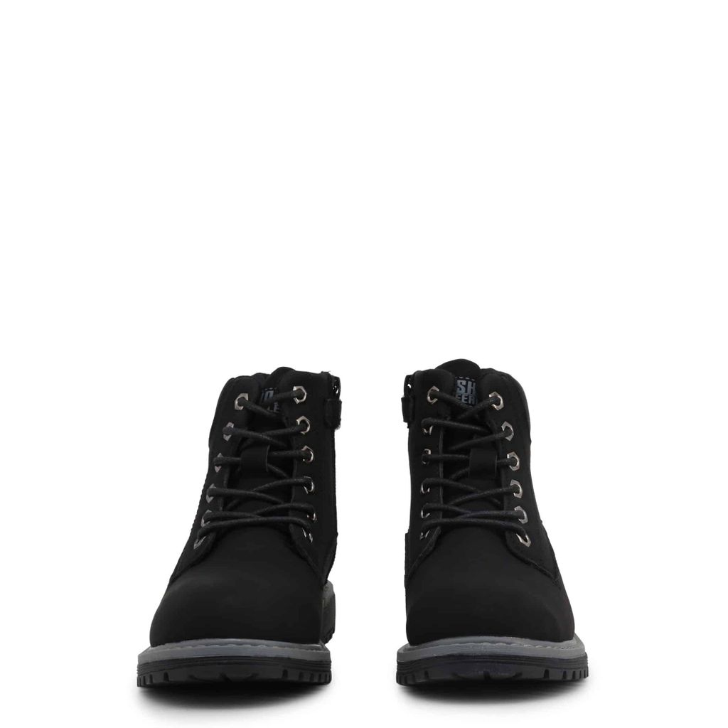Detské členkové topánky 1738-054 - Shone Čierna 30