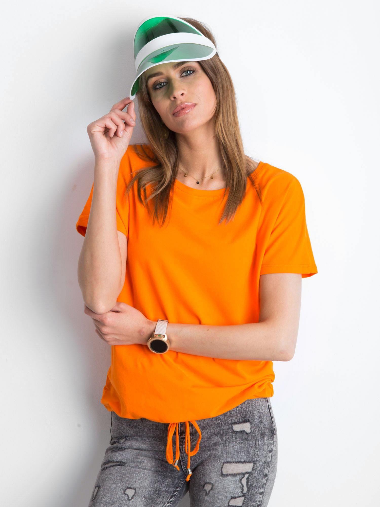 Dámske bavlnené tričko 4834 - FPrice tyrkysová XS
