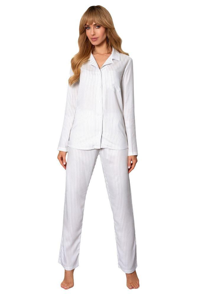 Dámske pyžamo Anna 1173 - Rössle ecru-grey M