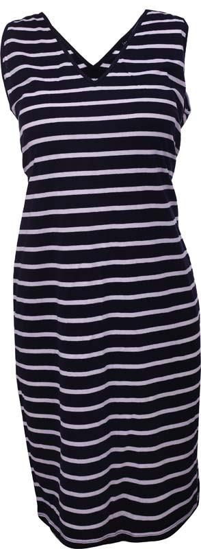 Dámske šaty 7960453 - MARINE tmavo modrá s bielou L-40