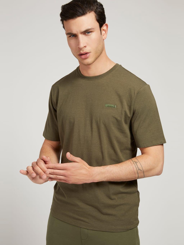 Pánske tričko U1YA15JR06K - G8F6 khaki - Guess khaki L