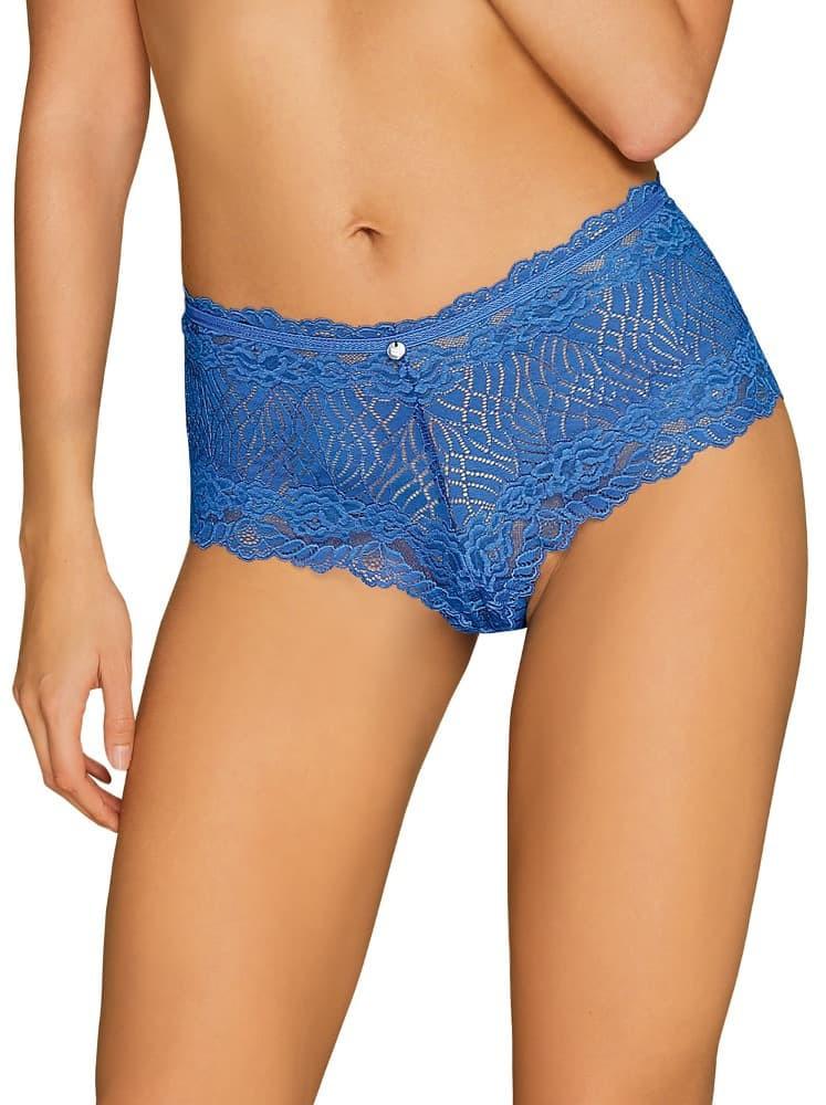 Okouzlující kalhotky Bluellia shorties - Obsessive modrá S/M